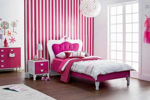 10 Pink Bedroom Furniture Sets For Girls - Make Simple Design