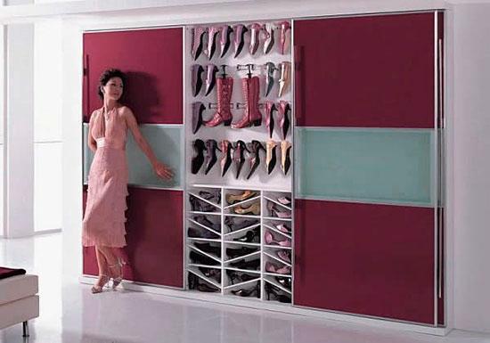 Bedroom Shoe Storage Cabinet