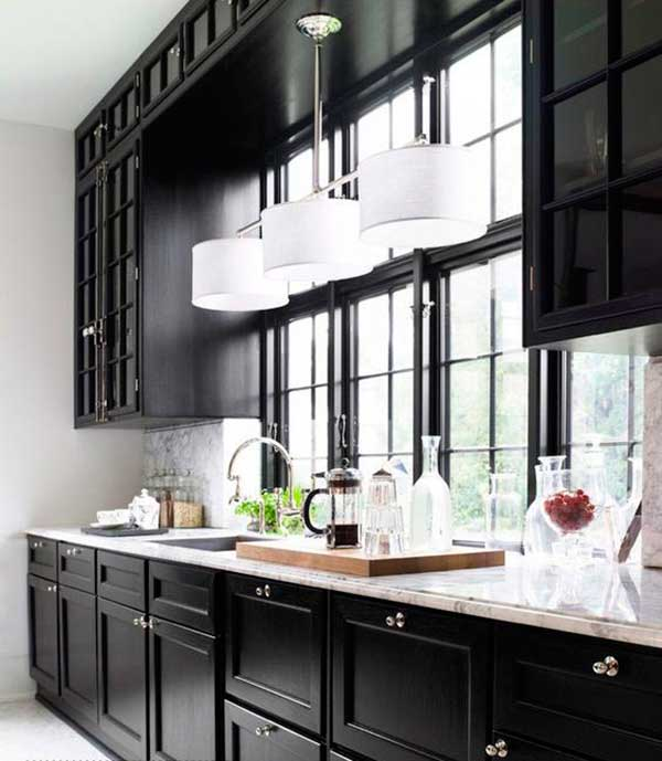 Classic-Black-Kitchen-Cabinet