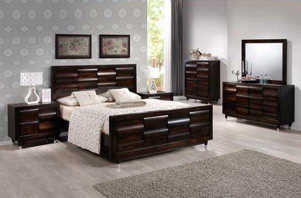 Contemporary-Mahagony-Bedroom