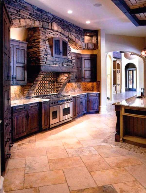 Country Style Kitchen Cabinet Design