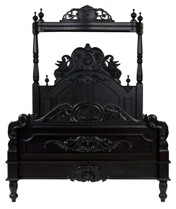 French-Mahaogany-bedroom-Furniture