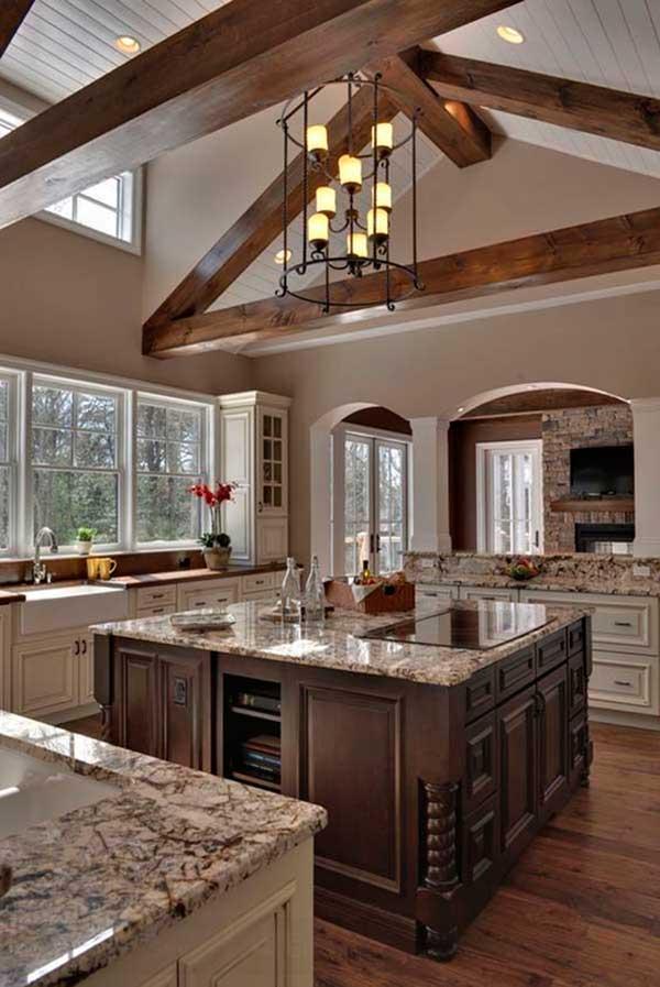 Kitchen-High-Ceiling-Cabinet-Design
