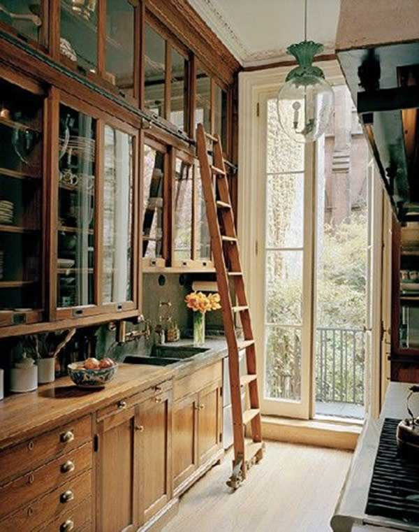 Library-Style-Kitchen-Cabinet-Design