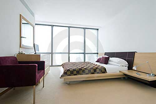 Modern Double King Size Bedroom