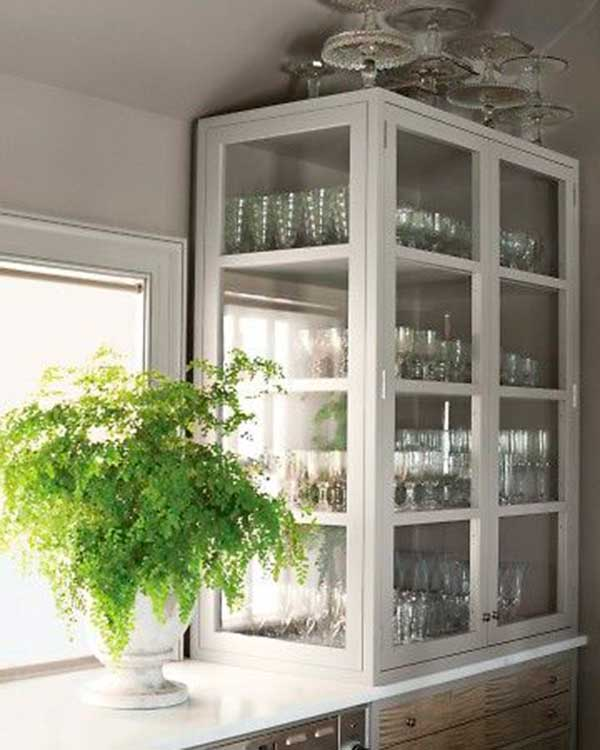 Modern Glass Cabinet