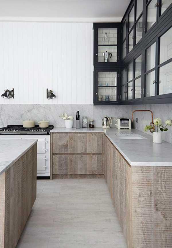 Modern Vintage Kitchen Cabinet Design