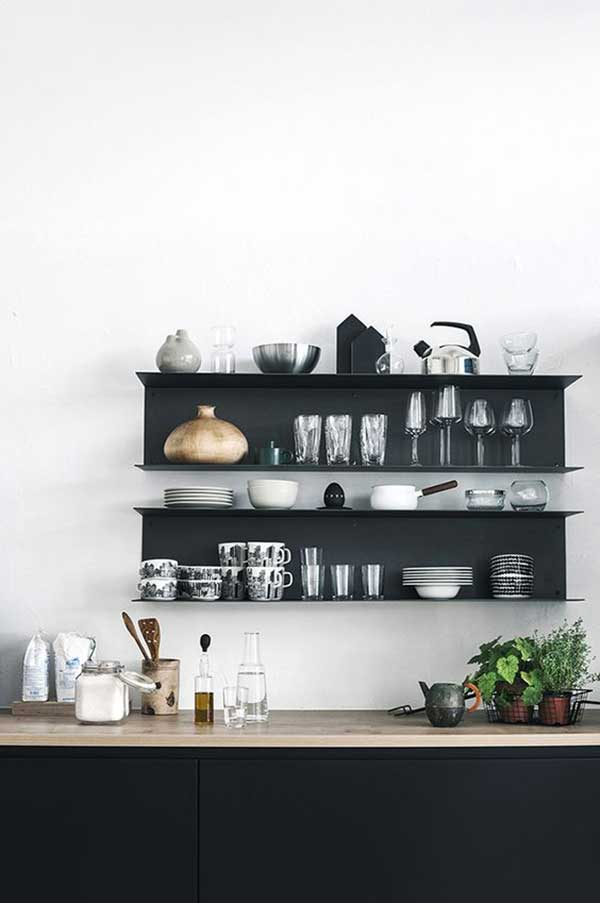 Open-Black-Kitchen-Cabinet