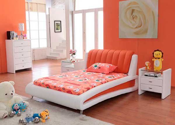 Orange-Themed-Bedroom-Furniture-Sets