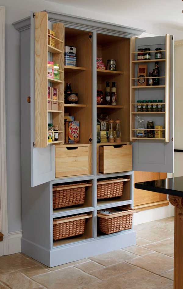 Pantry-Style-Kitchen-Cabinet-