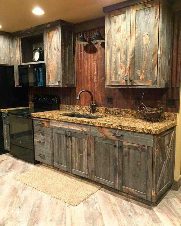 Shabby Chic Kitchen Cabinetry