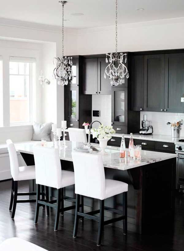 Simple-Black-Kitchen-Cabinet