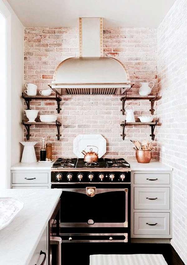 Small Rustic Kitchn Cabinet Design