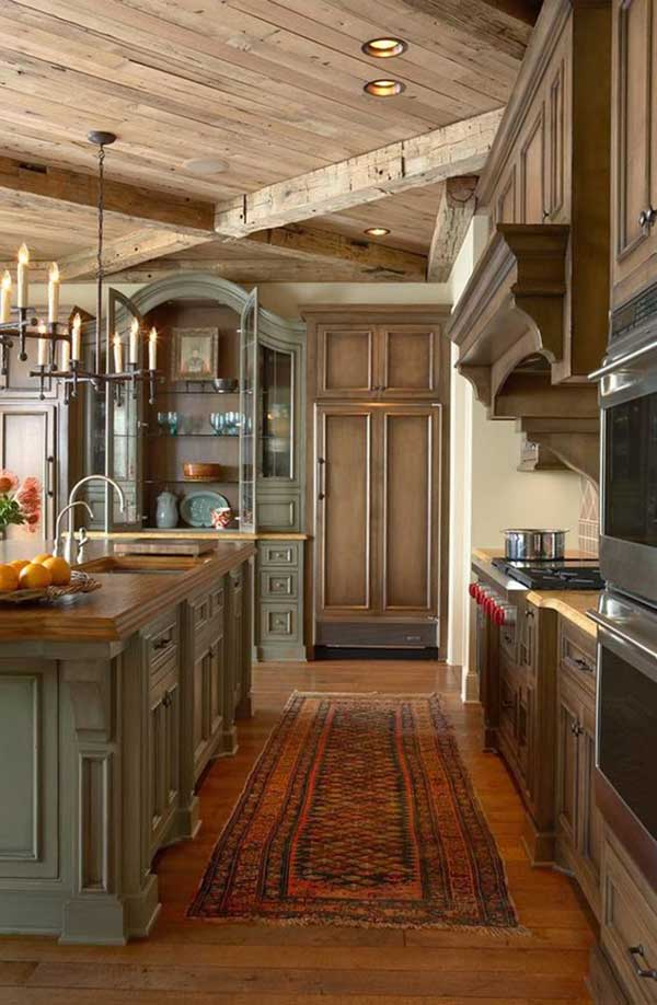 Vintage Kitchen Cabinet Design