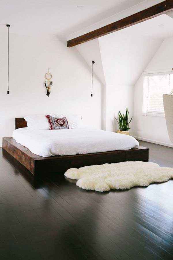 White-Bedroom-Dark-Wood