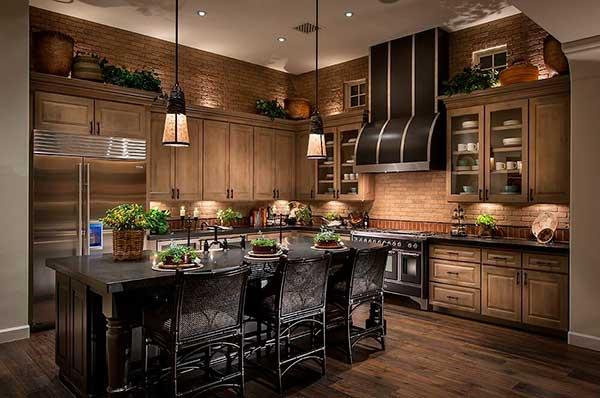 Wooden Kitchen Cabinet Design