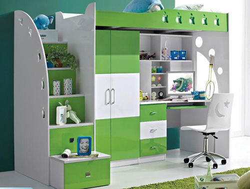 Childrens Bedroom Storage