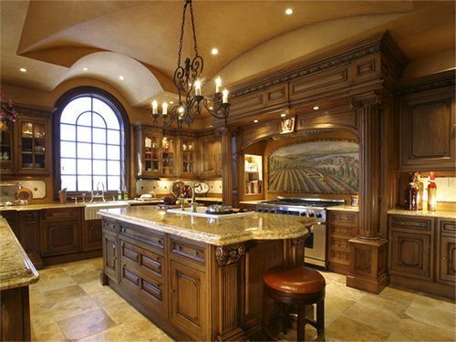 Classical Kitchen Cabinets