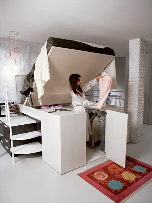 Container Foldable Bedroom Furniture Sets