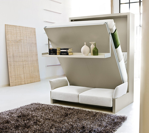 Contemporary Foldable Bedroom Furniture Set
