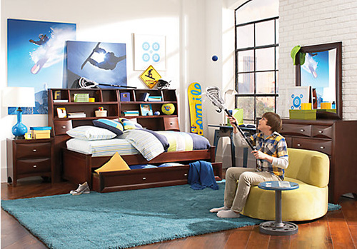 Conventional Aesthic Boys Bedroom Furniture Sets