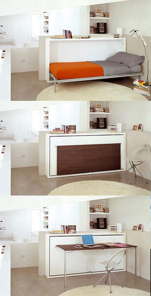 Smart And Foldable Bedroom Furniture Set Make Simple Design
