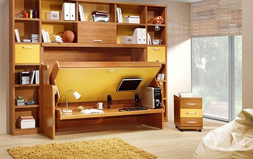 Smart And Foldable Bedroom Furniture Set