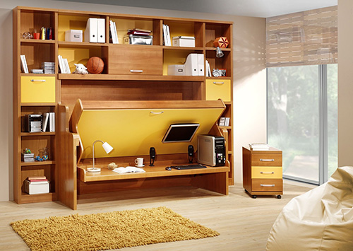 Smart And Foldable Bedroom Furniture Set - Make Simple Design