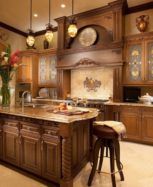 Kitchen Cabinet Ideas Simple: Traditional Kitchen Cabinet Designs
