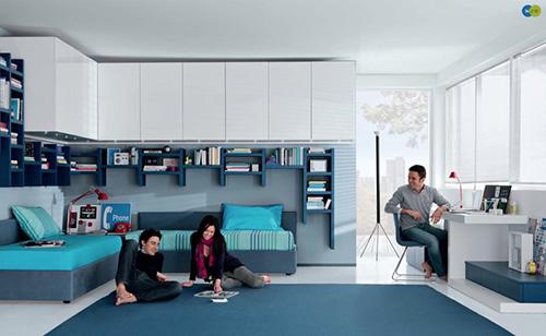 Modern Boys Bedroom Furniture Sets