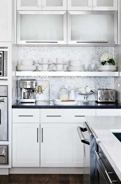 10 Frosted Glass Kitchen Cabinets Make Simple Design