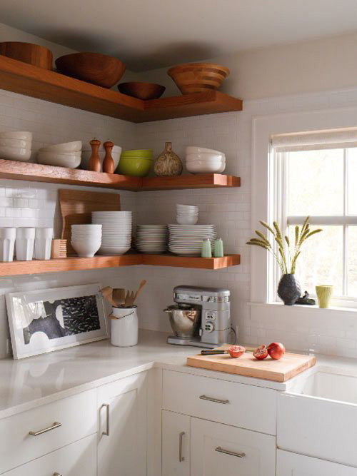 Small Open Kitchen Cabinets