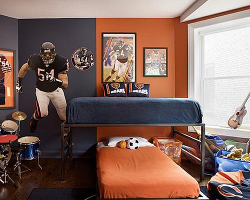 Sporty Boys Bedroom Furniture Sets