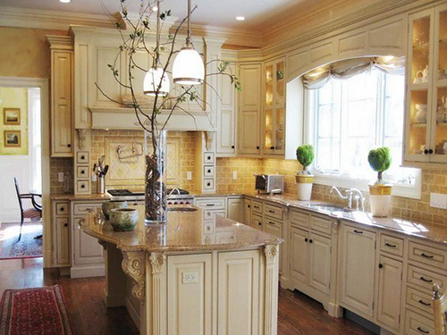 Traditional Vintage Kitchen Cabinet