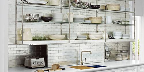 Vintage Open Kitchen Cabinets